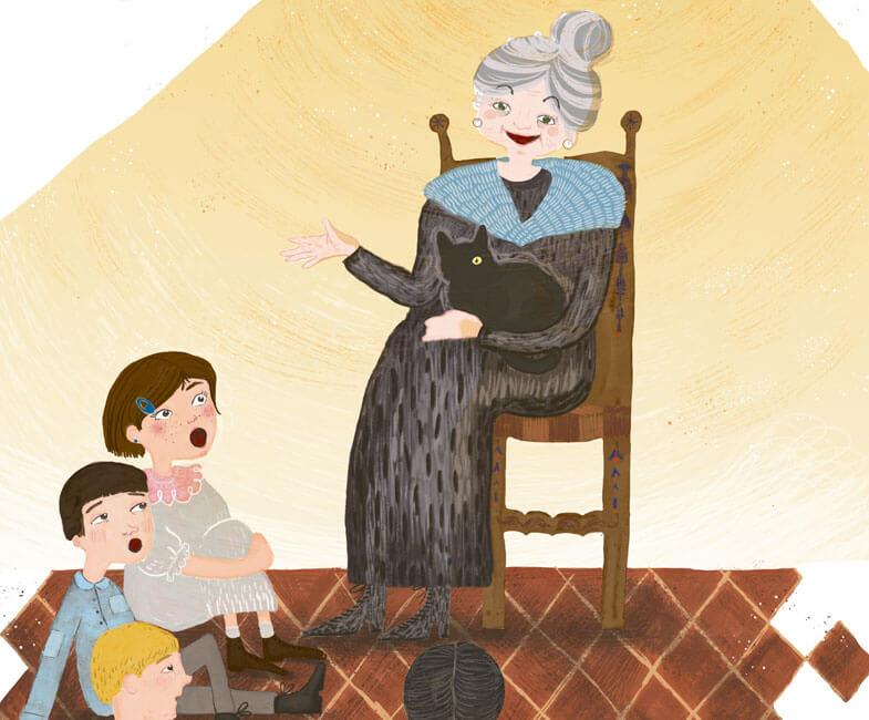 Francisca, la abuela