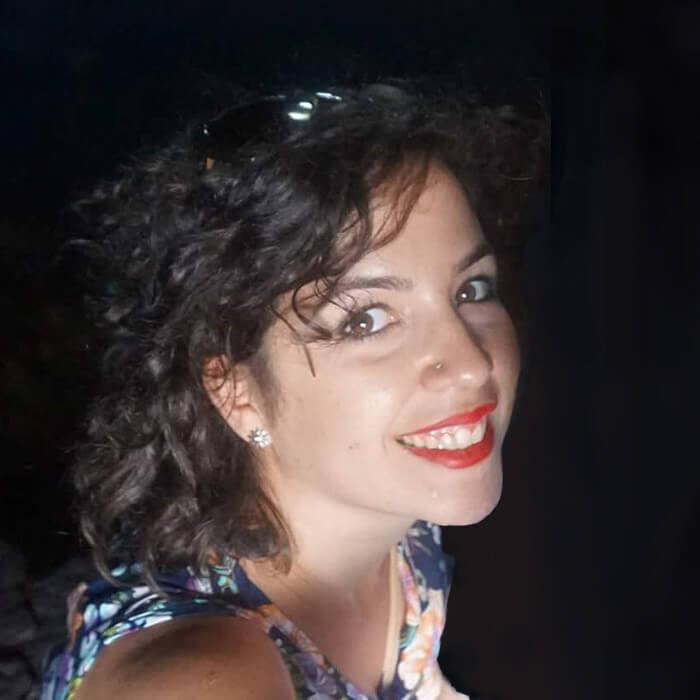 Rocío Bejarano, piano y teclados en Lydian Road Estudios